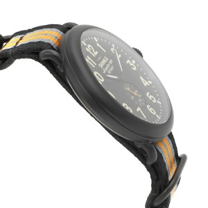 Shinola The Runwell Black PVD Stainless Steel Quartz Mens Watch 10000142