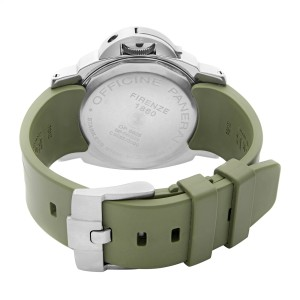 Panerai Luminor 44mm Power Reserve Black Dial Automatic Mens Watch PAM00027