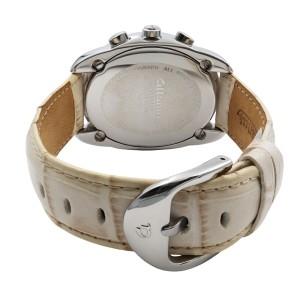 Altanus Flores Chrono Steel Cream Dial Ladies Watch 7825-CMBG