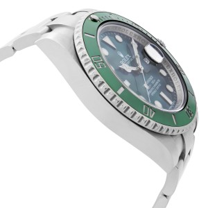 Rolex Submariner Hulk Stainless Steel Green Dial Automatic Mens Watch 116610LV