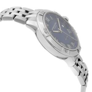 Raymond Weil Tango 41mm Steel Blue Dial Quartz Classic Mens Watch 8160-ST-00508