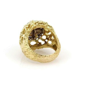 Diamond 18k Yellow Gold 5 Interchangeable Gemstone Ring