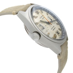Vintage Heuer Carrera Chronograph Steel Cream Dial Automatic Mens Watch 1153