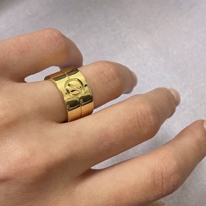Cartier 18K Yellow Gold High Love Ring Size 49 US 5