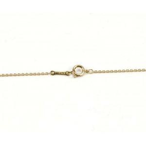 Tiffany & Co. Yellow Gold Peretti Mango Fruit Pendant Necklace