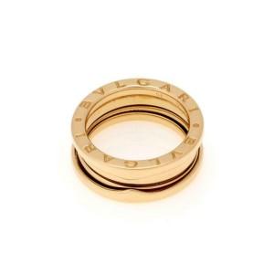 Bvlgari Bulgari B Zero1 18k Yellow Gold 8mm Wide Band Ring Size 51-US 5.75