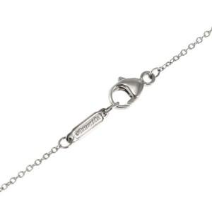 Tiffany & Co. Diamond Platinum Lariat Star Pendant & Chain