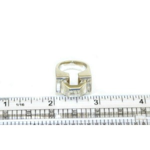 Tiffany & Co. Vintage Rectangular Top Sterling Silver Ring Size 4.5