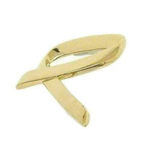 Tiffany & Co. Paloma Picasso 18k Yellow Gold Ribbon Pin Brooch
