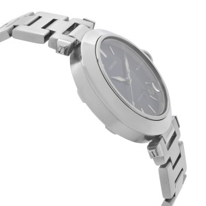 Cartier Pasha C 35mm Stainless Steel Blue Dial Automatic Mens Watch W31014M7