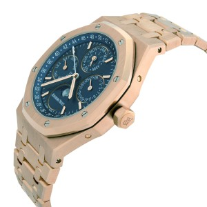 Audemars Piguet Royal Oak 18K Gold Perpetual Calendar Watch 26574OR.OO.1220OR.02
