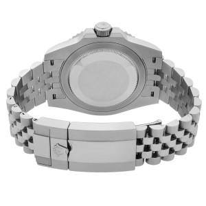 Rolex GMT-Master II Batgirl Steel Black Dial Automatic Mens Watch 126710BLNR