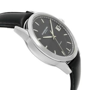 Raymond Weil Freelancer Steel Black Dial Automatic Mens Watch 2740-STC-20021