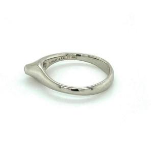 Tiffany & Co. Platinum Elsa Peretti Diamond Pointed Top Ring