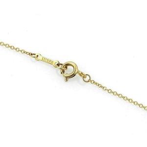 Tiffany & Co. Elsa Peretti 18k Yellow Gold Infinity Cross Pendant