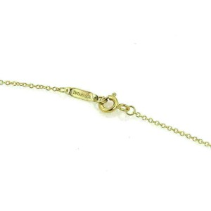 Tiffany & Co. Stitch Crossover 18k Yellow Gold Pendant