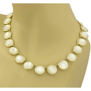 Ippolita Lollipop Rock Candy Mother Of Pearl 18k Yellow Gold Necklace Rt. $6,950