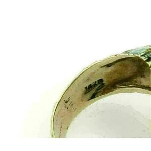 Equestrian Enamel Horse Head Bypass 14k Yellow Gold Ring