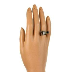 Lhasha Opso Sapphires 14k White Gold 3D Dog Ring