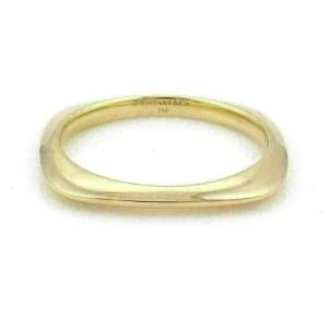 Tiffany & Co. 18k Yellow Gold Cushion Shape Bangle