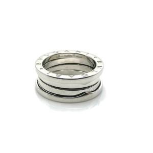 Bvlgari B.zero1 Triple Spiral Band 18k White Gold Ring Size 56  Rt. $2,190