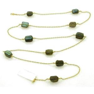 Gurhan BUNDLE Labradorite 24k Gold Necklace Rt. $3,200