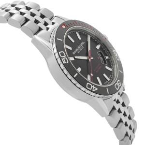 Raymond Weil Freelancer Canada Edition 42 Steel Black Dial Watch 2760-ST5-CA150