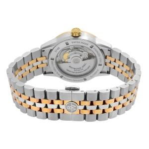 Raymond Weil Freelancer 42mm Two-Tone Steel Gray Dial Mens Watch 2740-SP5-60021