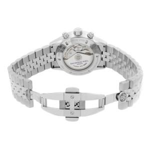 Raymond Weil Freelancer Chrono Steel Black Dial Automatic Watch 7731-ST1-20621