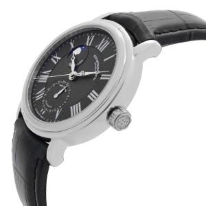 Raymond Weil Maestro Moonphase 39.5mm Steel Black Dial Mens Watch 2839-STC-00209