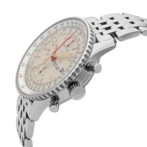 Breitling Navitimer 1 Steel Chronograph Silver Dial Men Watch A13324121G1A1