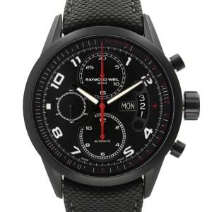 Raymond Weil Freelancer PVD Steel Black Dial Automatic Mens Watch 7730-BK-05207