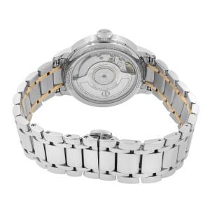 Baume & Mercier Classima 18K Rose Gold Steel White Dial Ladies Watch M0A10269
