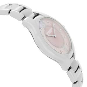 Raymond Weil Noemia Steel Diamond Pink MOP Dial Ladies Watch 5132-ST-00986