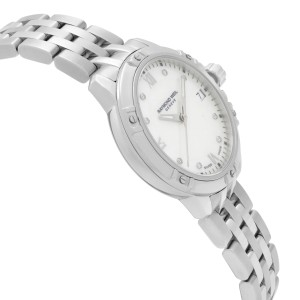 Raymond Weil Tango 30mm Steel Diamond White MOP Dial Ladies Watch 5960-ST-00995