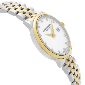 Raymond Weil Toccata Two-Tone Steel White MOP Dial Ladies Watch 5988-STP-97081