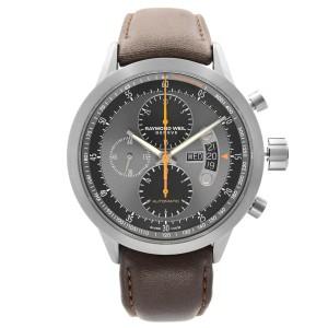 Raymond Weil Freelancer Titanium Gray Dial Automatic Mens Watch 7745-TIC-05609