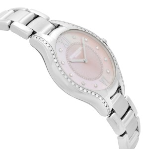 Raymond Weil Noemia Steel Diamond Pink MOP Dial Ladies Watch 5132-STS-00986