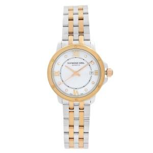 Raymond Weil Tango Two-Tone Steel Diamond MOP Dial Ladies Watch 5391-SP5-00995