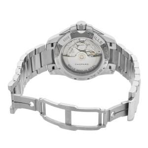 Chopard Mille Miglia Gran Turismo Steel Chrono Black Dial Mens Watch 158459-3001