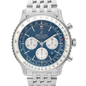 Breitling Navitimer 1 Steel Blue Dial Automatic Mens Watch AB012721/CA05-453A