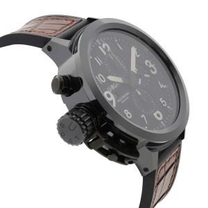 U-Boat Italo Fontana Flightdeck Black Ceramic Automatic Mens Watch U-7750/50