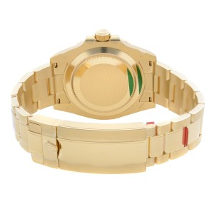 Rolex Submariner 18K Yellow Gold Black Dial Automatic Mens Watch 126618LN