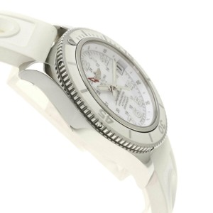BREITLING Stainless Steel/Rubber Super Ocean A17312 Watch