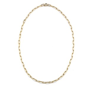 Cartier 18KY Gold Chain Necklace