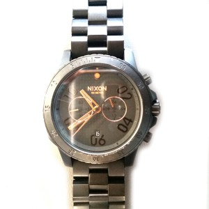 Nixon Ranger Chrono Black and Rose Gold Watch