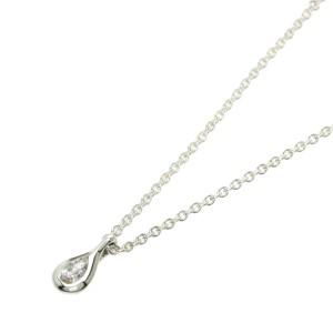 TIFFANY & Co. Diamond Silver Elsa Peretti By The Yard Necklace