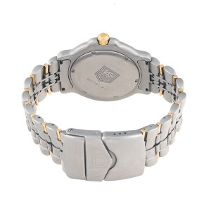 Tag Heuer 6000 WH1151-K1 Stainless Steel & 18K Yellow Gold Quartz 39mm Mens Watch