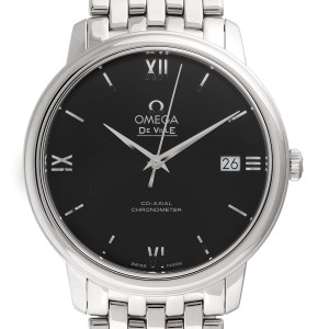 Omega DeVille 424.10.37.20.01.001 Stainless Steel Automatic 36.8mm Mens Watch