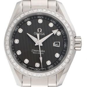 Omega Seamaster Aqua Terra 23115306156001 Stainless Steel 30mm Womens Watch